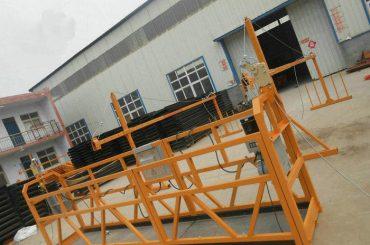 suspensió de la plataforma de treball bastida d'alumini amb baix preu