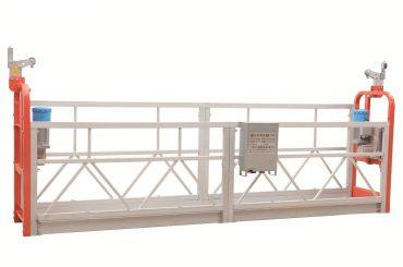 Zlp630 façana d'acer pintat netejant plataforma de treball suspesa