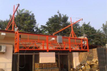 plataforma de suspensió de corda