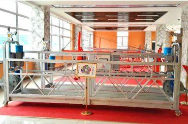 Plataforma suspesa d'alumini zlp630 (ce iso gost) / equips de neteja de finestres altes / góndola temporal / cuna / etapa de swing calenta