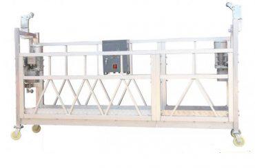 Acer pintat en calent d'alumini galvanitzat ZLP630 Plataforma de treball suspesa per a la construcció de pintura de façana