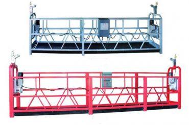 Plataforma suspesa de zlp 630 corda plataforma de treball aeri amb bastida d'escuma de plàstic pintada