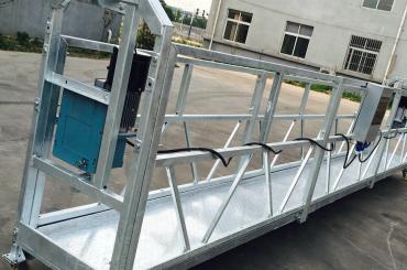 neteja de finestres zlp630 corda plataforma suspesa plataforma de góndola amb polipast ltd6.3