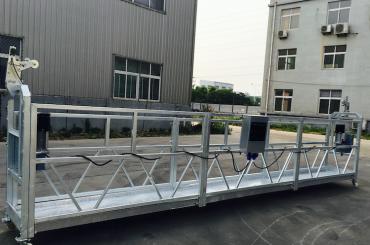 aleació d'alumini ajustable plataforma suspesa zlp 800 per a la renovació / pintura