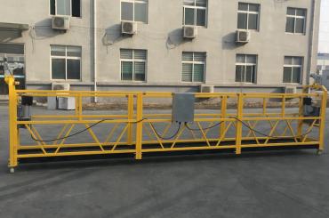 Plataforma de filferro de suspensió d'alumini pintat 500kg / 630kg / 800kg / 1000kg