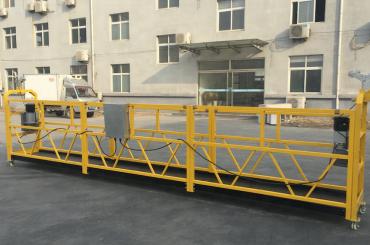 potent plataforma de 6 metres de góndola en suspensió amb volada de viga