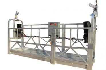 sèrie zlp galvanitzada en calent / plataforma de suspensió d'alumini per a la pintura de paret de construcció de gran alçada, neteja de vidres