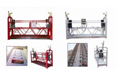 plataforma de connexió suspesa de corda penjada, màquina de gòndoles d'elevació zlp630 de construcció