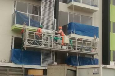plataforma de suspensió de corda de manteniment de construcció amb polivalent ltd8.0 zlp800