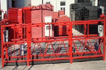 construcció de neteja de plataforma de treball suspesa zlp800 amb càrrega nominal de 800kg