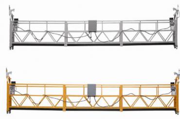 Plataforma suspesa de corda de 3 fases amb galvanitzat calent de 7.5 m zlp800a per a la pintura de paret
