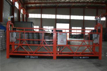 Zlp1000 Plataforma de suspensió segura de 8 a 10 m / min per a construcció i manteniment d'edificis
