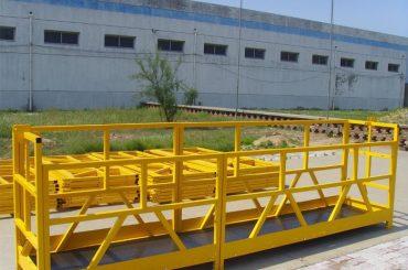 ZLP 800 High Rise Building Window Cleaning Platform 300M 2.5M * 3 1.8KW 800KG