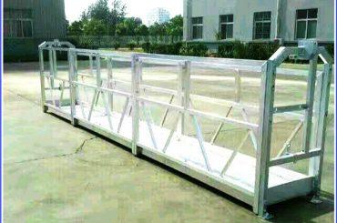 Plataformes de treball amb suspensió d'acer / alumini amb bloqueig de seguretat de la sèrie SAL