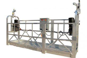 ce / iso-approved zlp construcció / construcció elèctrica / plataforma suspesa en paret externa / bressol / góndola / etapa d'oscil·lació / cel climàtic