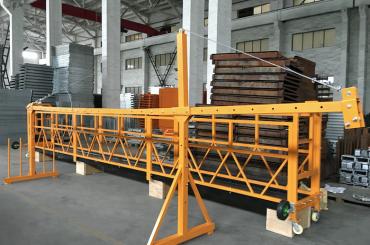 zlp 500 lp 630 plataforma de corda de filferro suspesa temporalment per a la construcció