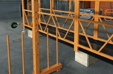 plataforma de cables de suspensió monofàsica 800 kg 1.8 kw, velocitat d'elevació de 8 a 10 m / min