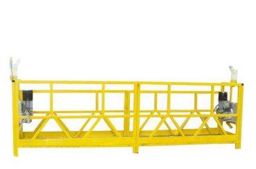 plataforma d'acer / plataforma suspesa d'alumini, equips d'accés suspensiu de 630 kg