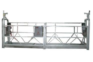 aleació d'alumini d'alta alçada zlp800 plataforma de treball suspesa per a la neteja de finestres